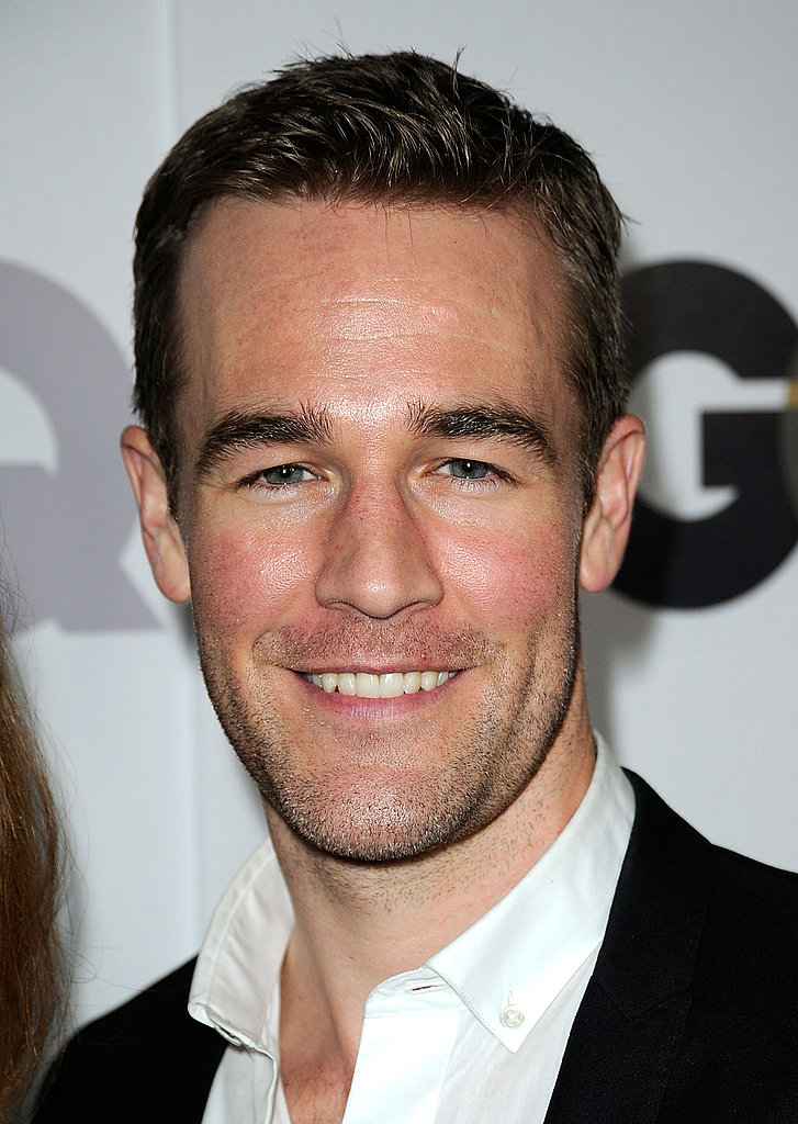 James Van Der Beek stepped out for GQ.