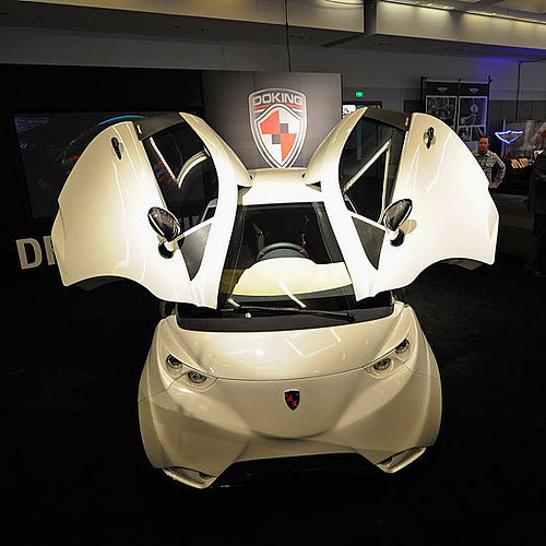 LA Auto Show Doking Electric Car Pictures