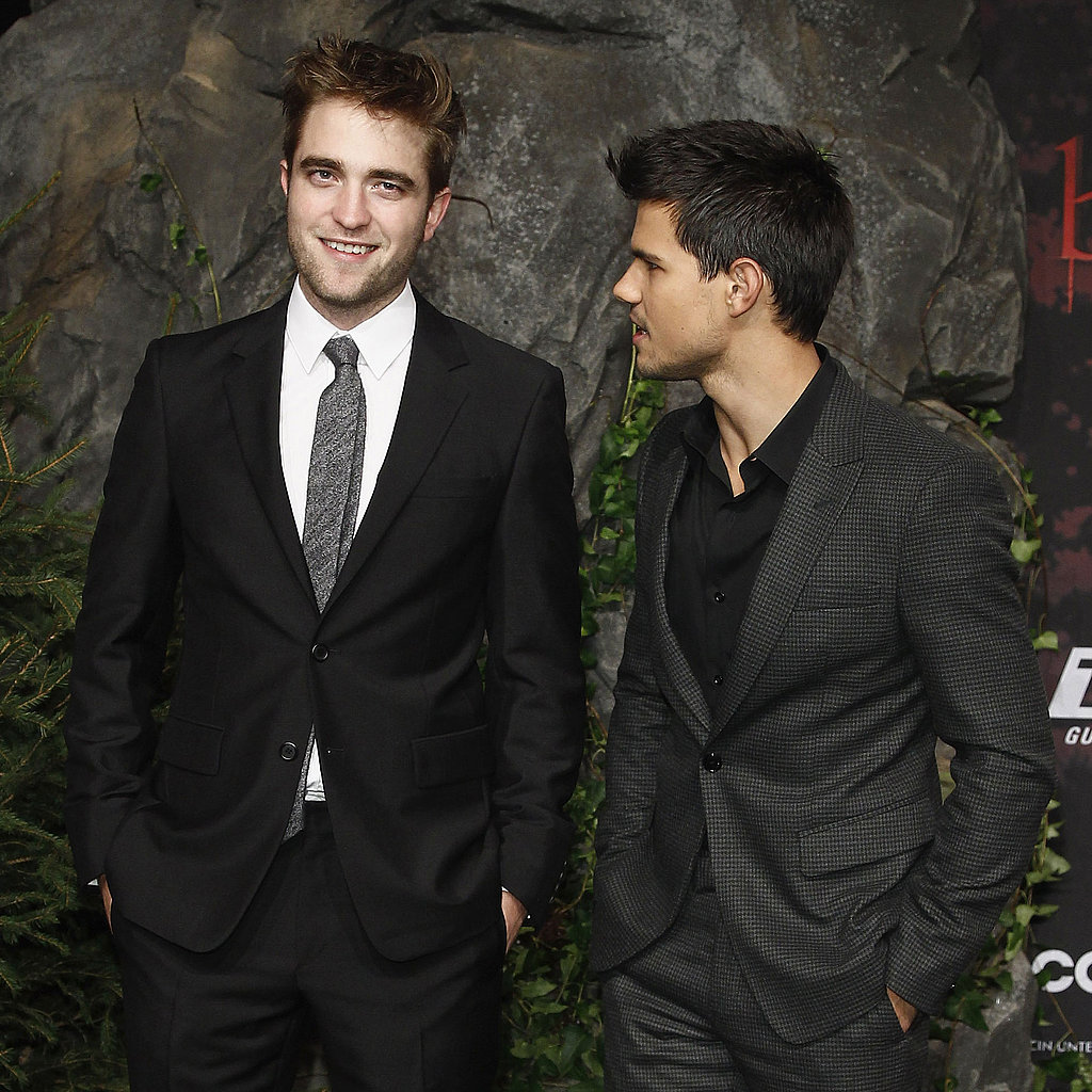 Robert Pattinson and Taylor Lautner in Germany Pictures