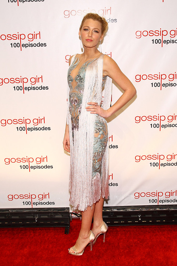Blake Lively in Marchesa.