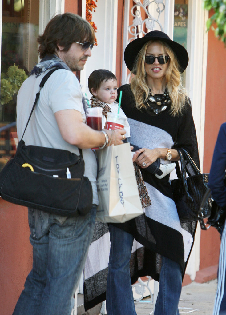Rachel Zoe and Rodger Berman shopping with Skyler.