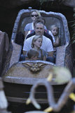 Reese Witherspoon and Jim Toth on the log ride with Ava and Deacon Phillippe.