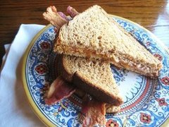 Maple Peanut Butter & Bacon Sandwich