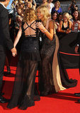 Kylie Minogue and Delta Goodrem