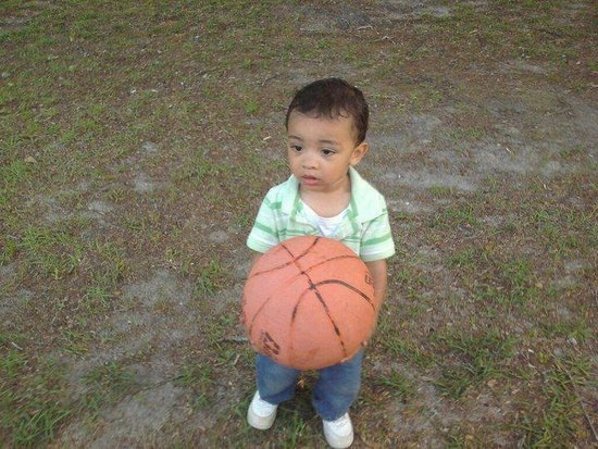 Mommys basketball star!