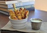 Zucchini Fries With Buttermilk Ranch Dip