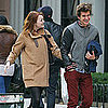 Emma Stone and Andrew Garfield on a Walk Pictures