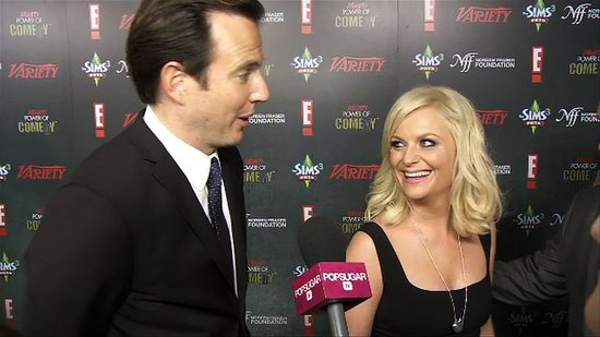Video: Amy Poehler and Will Arnett Gush About Their Comedian Kids