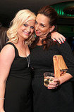 Amy Poehler got close to her good friend Maya Rudolph.