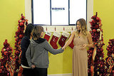 Lauren Conrad meets fans at Kohl's.