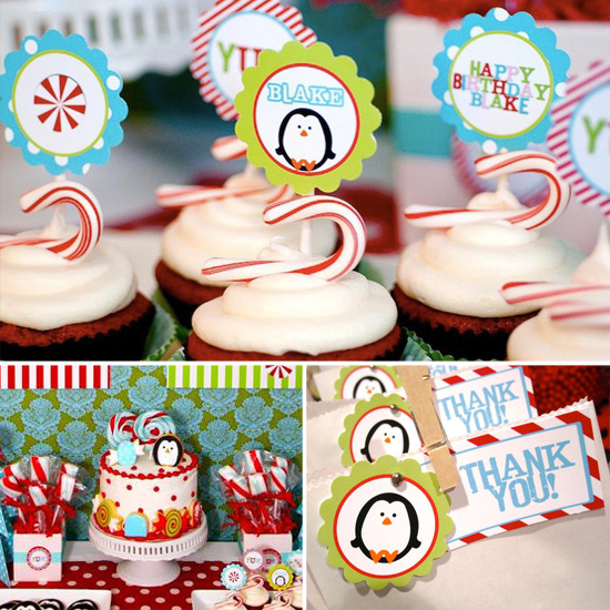 Celebrate Baby: A Winter Candyland First Birthday