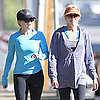 Reese Witherspoon Walking With Friend in Brentwood Pictures