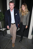 Jacqui Ainsley and Guy Ritchie left London's Petite Maison.
