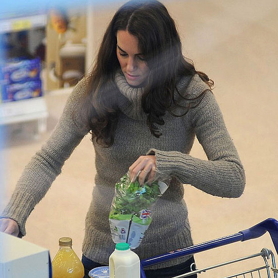 Kate Middleton Stocks Up For a Feast With Her Prince