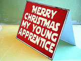 Merry Christmas Apprentice ($5)