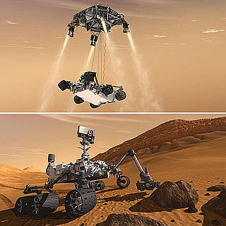 NASA Launches Mars Rover