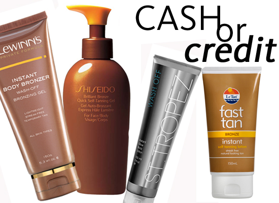 Cash or Credit: 5 Instant Self-Tanners to Get Your Glow On