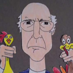 Larry David Funny or Die Thanksgiving Special