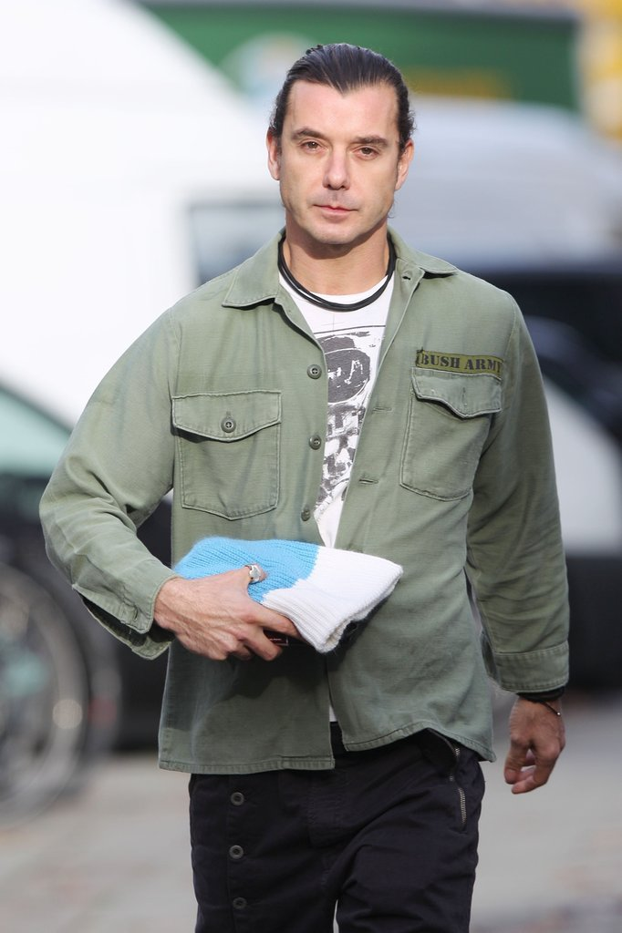 Gavin Rossdale in London.