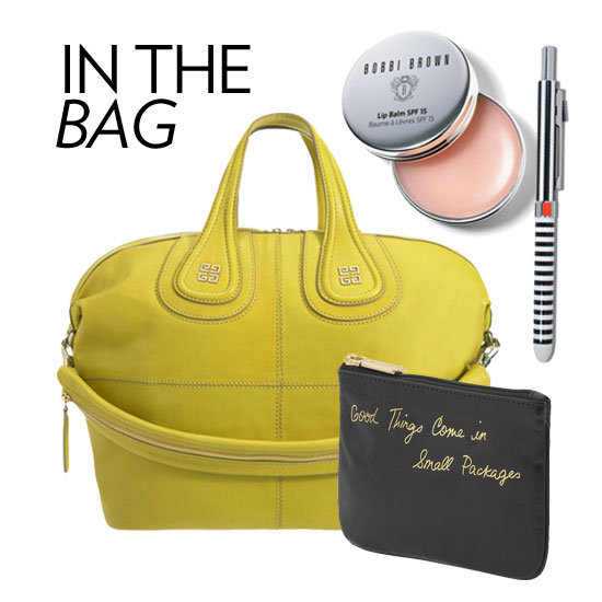 What do you keep handy in your purse? We've picked out our five must haves.