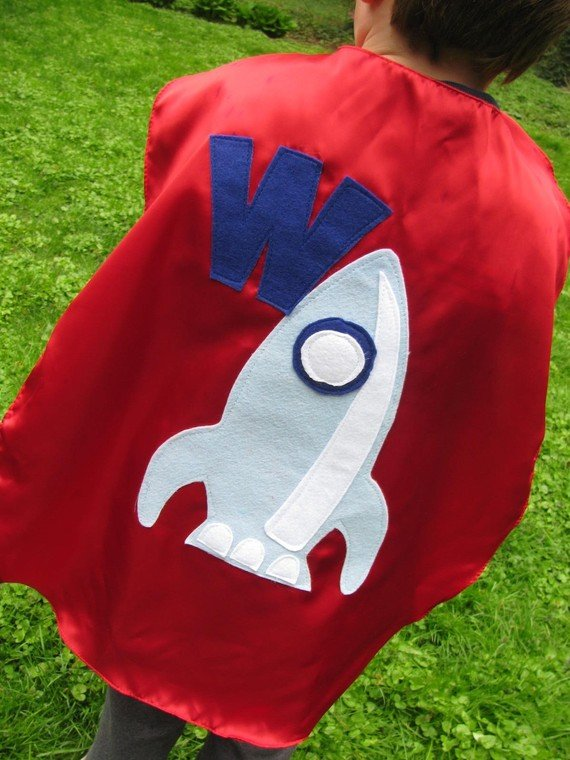 Custom Superhero Cape ($27)
