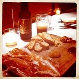 meat platter &amp; beer @ Fat Angel