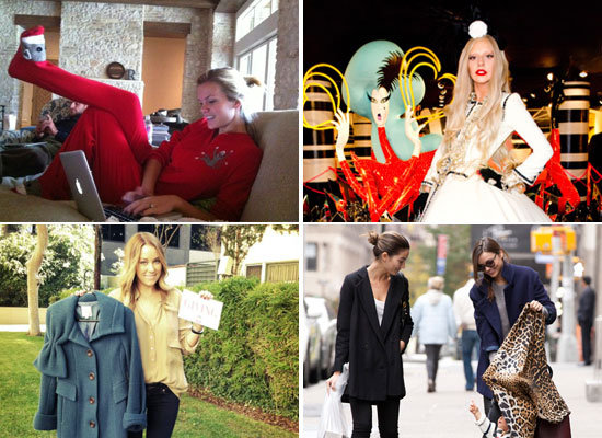 Celebrity Fashion Twitter Pics From Marchesa, Brooklyn Decker, Lady Gaga & More!