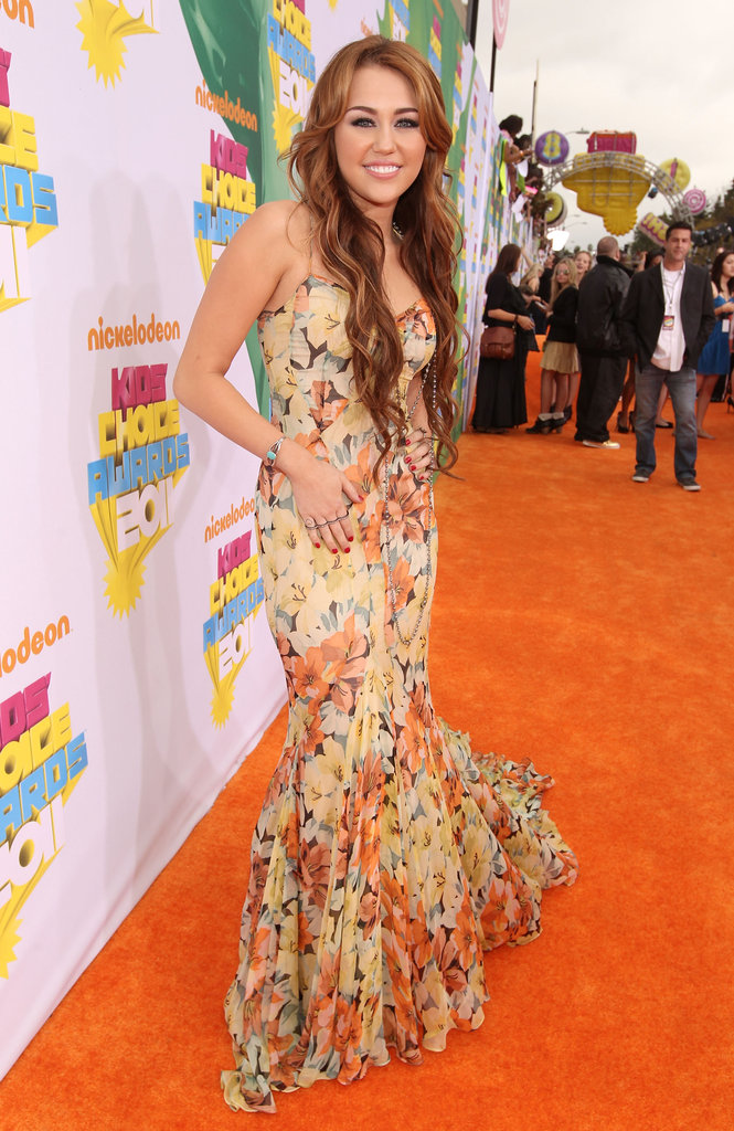April 2011: Nickelodeon's 24th Annual Kids' Choice Awards