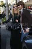 Rachel Zoe and Rodger Berman out in LA.