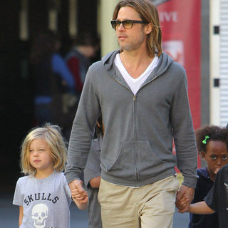 Brad Pitt Misses Jennifer Aniston at LA Screening of Hugo