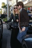 Rachel Zoe and Rodger Berman out together in LA.