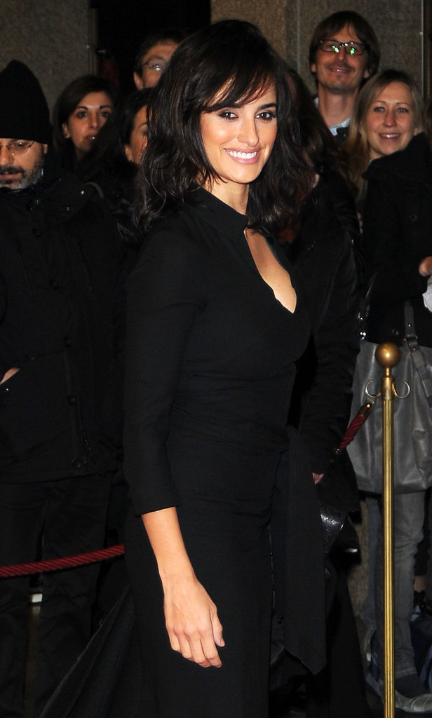 Penelope Cruz attended the Turin Film Festival.