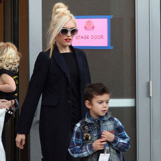 Gwen Stefani With Family at Yo Gabba Gabba Pictures