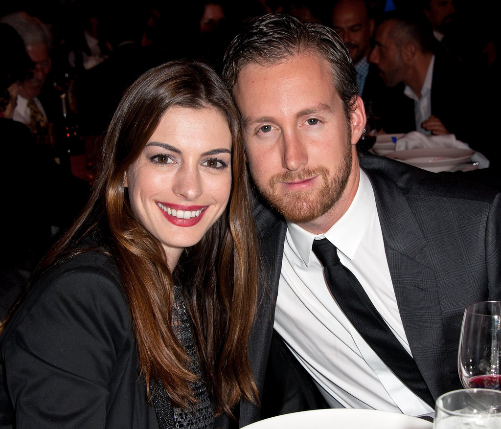 Anne Hathaway and Adam Shulman teamed up for NYC's Empire State Pride Agenda's 20th Anniversary Fall dinner in October 2011.