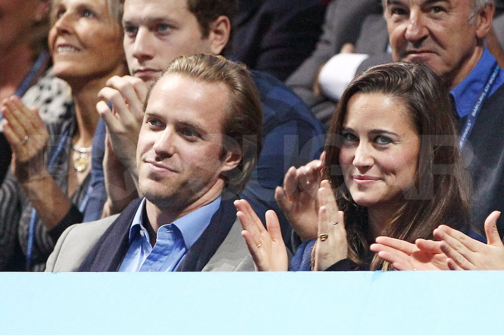 Pippa Middleton was happy with a guy pal.