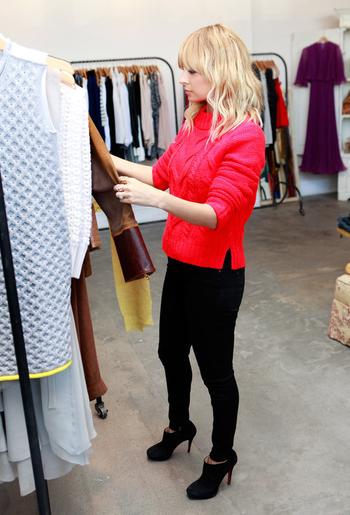 Nicole Richie supported Small Business Saturday.