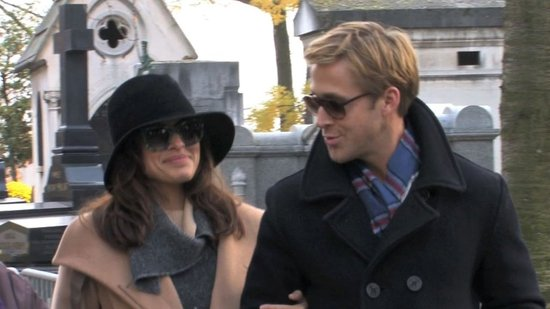 Video: See Ryan Gosling and Eva Mendes's Romantic Day Date in Paris!