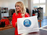 Nicole Richie showed her support for local small businesses.