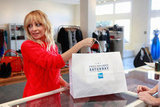 Nicole Richie participated in Small Business Saturday.