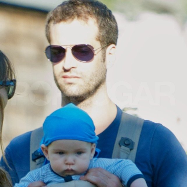 Benjamin Millepied carried son Aleph Millepied.