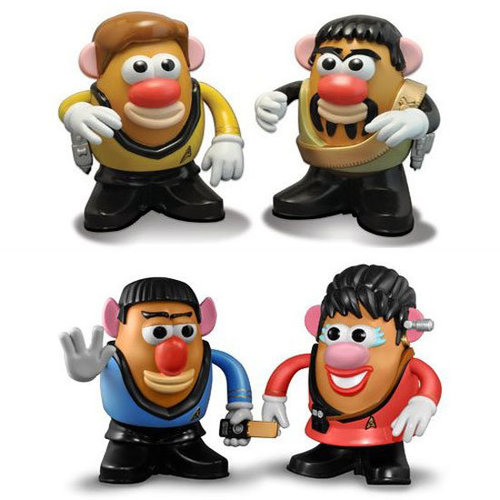 Star Trek Mr. Potato Heads