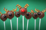Rudolph the Red-Nosed Reindeer Cake Pops