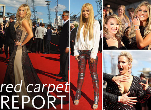 Pictures of Celebrities on the Red Carpet at the 2011 ARIA Awards: Kylie Minogue, Delta Goodrem, Jessica Mauboy and more!