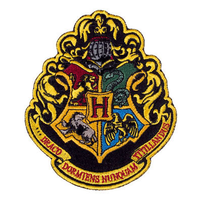 Hogwarts Crest Patch ($8)