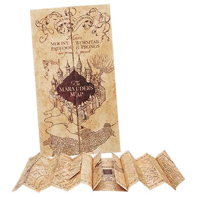 Harry Potter Marauder's Map ($45)