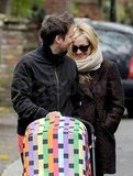 Matt Bellamy pushed Bingham's Missoni stroller.