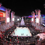 LA Live Holiday Ice Skating Rink