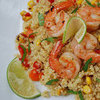 Quinoa With Lime and Shrimp