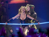 Britney Spears signature moves were on show in San Francisco in March 2012.