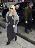Jessica Simpson was joined by her fiancé Eric Johnson in NYC.